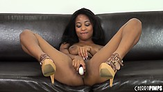 Ivy Sherwood enjoys a hot bang every now and then when she's alone