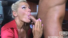Sexy blonde Hannah gets her amazing sweet pussy fingered by Benjamin M