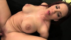 Sexually-obsessed prostitute Kelly Divine gets her butt rocked hard