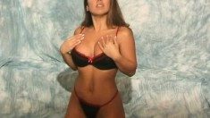 Dawn Asamura is a saucy and uninhibited girl in her hot lingerie