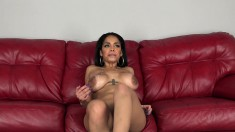 Wild Brunette With Big Hooters Is Addicted To Hard Cock And Fresh Cum
