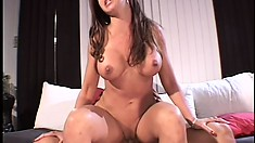 Hot Mrs. Sandler has wild anal fair with Dave Cummings and Nick Manning