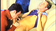 Two college boys take a break from studying to enjoy hot anal sex
