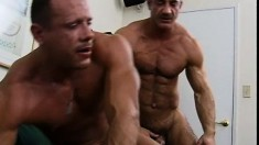 Two gay lovers have an amazing hardcore fuck that leave both satisfied