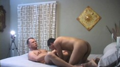 Erotic Male Lovers Thomas And Mario Treat Each Other's Cocks Well