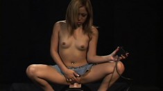 Dirty Asian girl Kat wildly rides the sybian and enjoys great pleasure