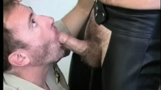 Muscled Guys Erik York And Eric Reese Getting Nasty In The Living Room