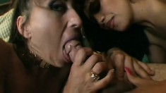 Pornstar group sex with sexy cock sucking and hardcore pussy banging