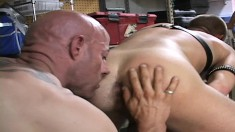 Attractive gay stud loves to get his dick sucked and his ass fucked