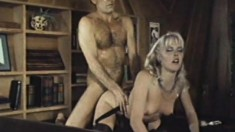 Classic porn The Blonde Next Door with Ron Jeremy and friends fucking