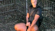 Horny Pierre Mucker Takes A Break From His Exercise To Please Himself