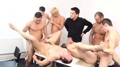 Gay Orgy With Tremendous Dick Sucking And Hardcore Ass Fucking