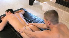 Talented Young Masseur With A Sexy Body Knows Exactly What A Guy Wants
