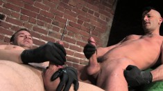 A Couple Of Horny Muscular Guys Love To Get Into Some Sounding