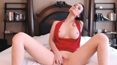 Brunette Babe With Big Natural Boobs Fucked