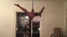 Hawt Ebony Playgirl In Reality Softcore Movie