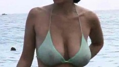 Beach Big Boobs