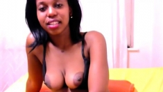 Nice Ebony Tits webcam