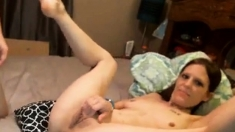 Hot Brunette Gets Fucked In Missionary Position