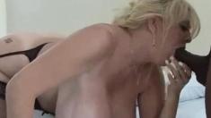 Beautiful big boobs blonde BBW loves to fuck