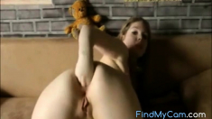 German Girl Fisting Her Asshole